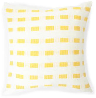 Bole Road Textiles Abyssinian Rose 20x20 Pillow - Sunflower