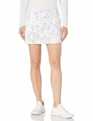 """Grand Slam Women's Printed Skort with 14 1/4"""" Inseam with Mesh Pockets"""