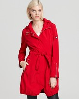 Dawn Levy Kendra Belted Rain Trench