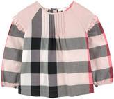 Burberry Check print blouse