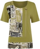 Tigi Short Sleeve Tribal Print Top