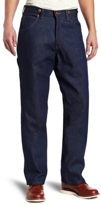 Key Apparel Men's Relaxed Fit Indigo Denim Logger Dungaree Denim 32x34