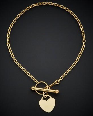 Italian Gold 14K Toggle Bracelet