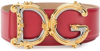 Dolce & Gabbana embellished buckle belt