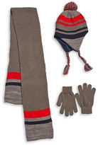 Capelli New York Knit Hat Scarf and Gloves Set