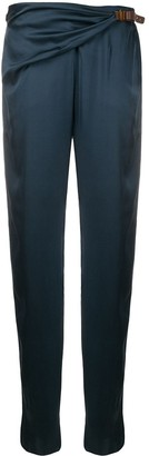 Giorgio Armani Draped Waist Trousers