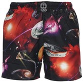 Sss Worldcorp Printed Polyester Swim Shorts