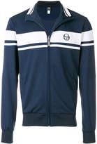 Sergio Tacchini contrast zipped sweatshirt