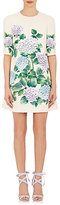Dolce & Gabbana Women's Hydrangea-Print Crepe Shift Dress