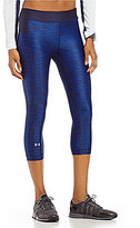 Under Armour UA Heatgear Armour Print Capri