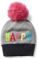 Gap Happy pom-pom hat