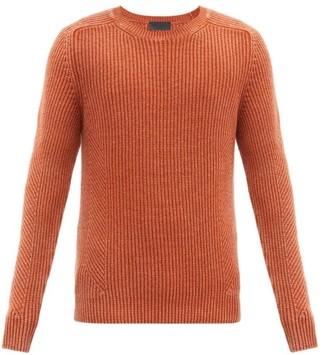 Iris von Arnim Olin Rib-knitted Cashmere Sweater - Orange