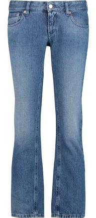 Maison Margiela Cropped Low-Rise Straight-Leg Jeans