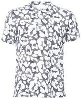 Neil Barrett graphic leopard all over print T-shirt
