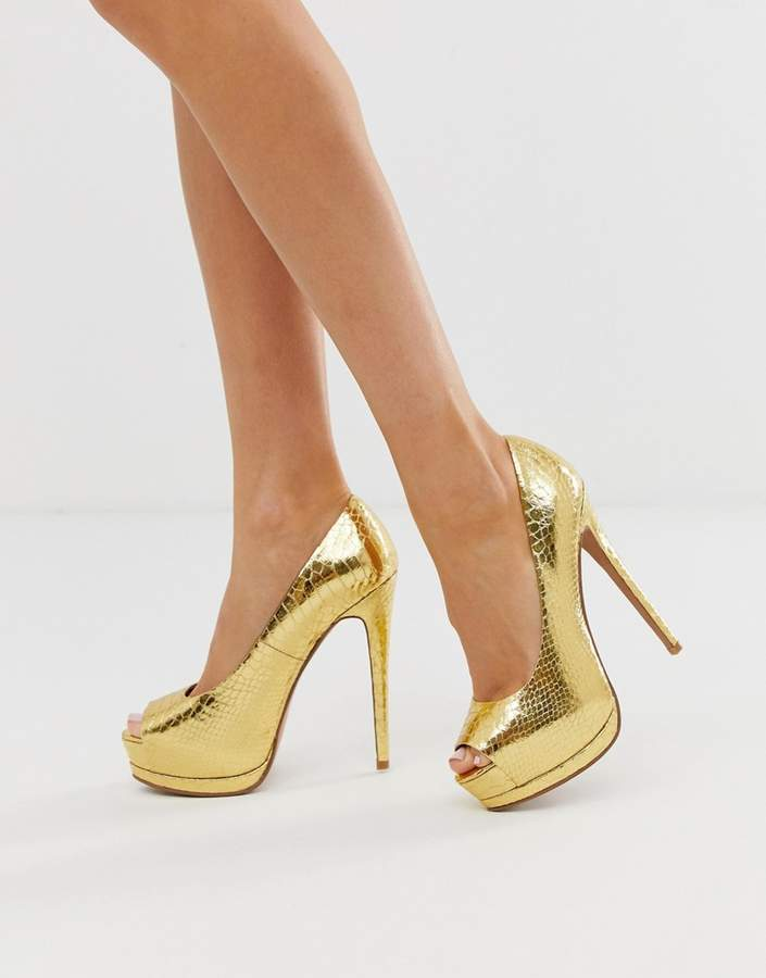 25bacdf311b1 Gold High Heels - ShopStyle Australia