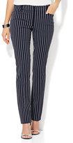 New York & Co. 7th Avenue Design Studio - Signature - Universal Fit - Slim-Leg Pant - Pinstripe - Petite