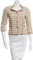 Chanel Silk Patterned Jacket