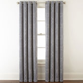 Home ExpressionsTM Dalton Embroidered Grommet-Top Curtain Panel