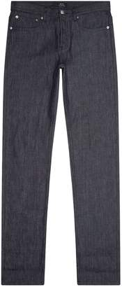 A.P.C. Contrast Turn-Up Petit Standard Straight Jeans