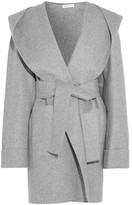 Barbara Casasola Hooded Cashmere Coat - Gray