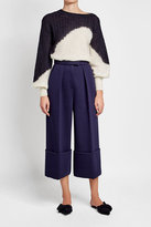 DELPOZO Pullover with Mohair and Baby Alpaca