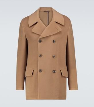 Etro Wool and cashmere peacoat jacket