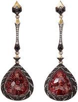 Sevan Biçakci Women's Rose Intaglio Triple-Drop Earrings