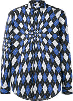 MSGM checked pattern shirt - men - Cotton - 41