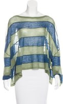 Opening Ceremony Striped Oversize Top