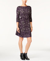 Style&Co. Style & Co Jacquard Sweater Dress, Created for Macy's