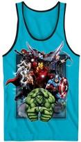 Marvel Boys' Avengers Tank Top - Turquoise
