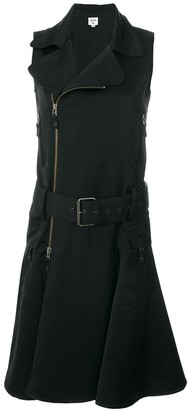 Jean Paul Gaultier Pre-Owned sleeveless belted biker dress