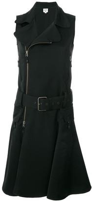 Jean Paul Gaultier Pre Owned sleeveless belted biker dress