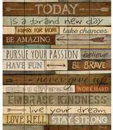 Andover Mills 'New Day' Textual Art on Wood