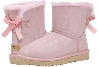 UGG Mini Bailey Bow II Shimmer (Nightfall) Women's Shoes