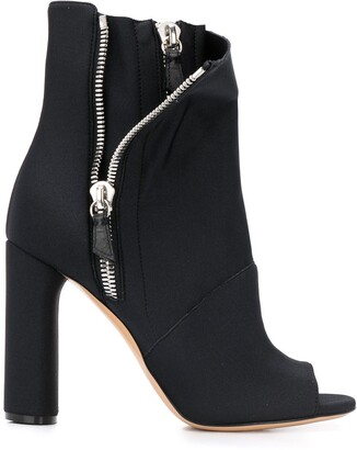 Casadei Elastic Girl Chiodo ankle boots