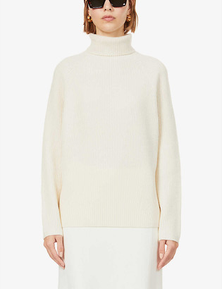 Gabriela Hearst Wigman turtleneck recycled cashmere jumper