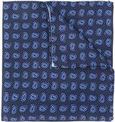Lardini Paisley print pocket square