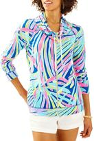 Lilly Pulitzer Angela Zip Up Top