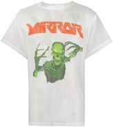 Off-White skeleton print sheer T-shirt