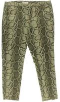 MICHAEL Michael Kors Womens Stretch Snake Print Skinny Pants