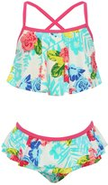 M&Co Minoti tropical print bikini