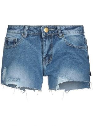 HOUSE OF MUA MUA Denim shorts