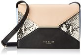 Ted Baker Tuileyy Texture Color-Block Cross-Body Bag