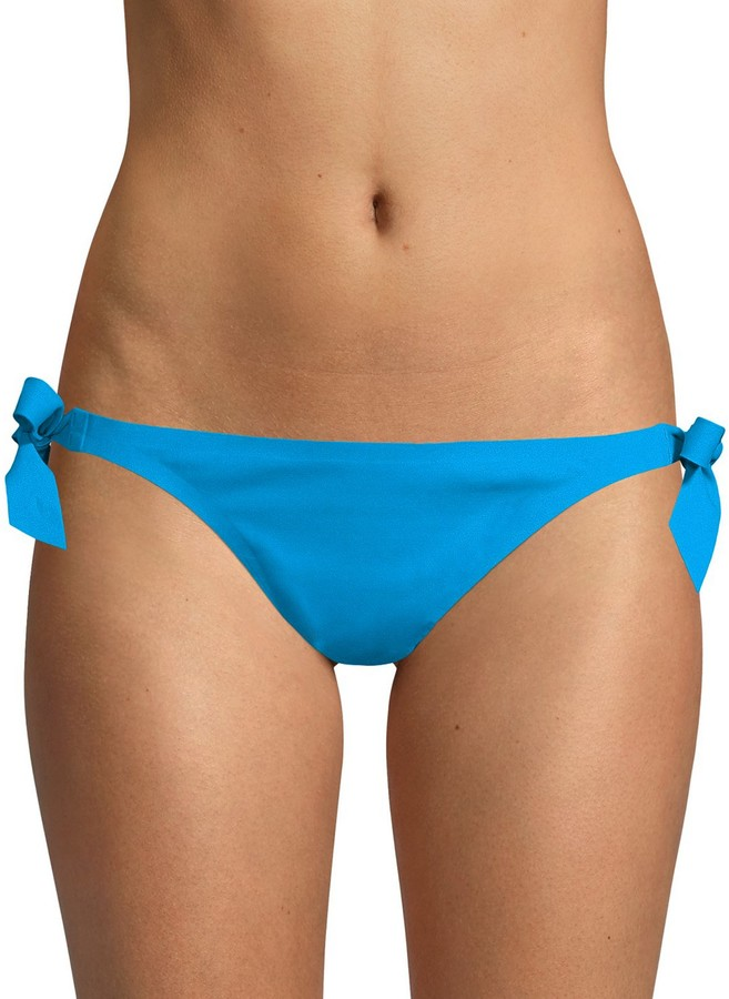 X By Au Natural Side Tie Bikini Bottoms