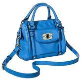 Merona Merona; Women's Mini Satchel Faux Leather Handbag with Removable Crossbody Strap - Me...