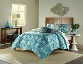 Trina Turk 3-Piece Kimono Duvet Set, Full/Queen, Blue