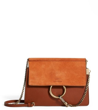 Chloé Mini Leather Faye Chain Bag