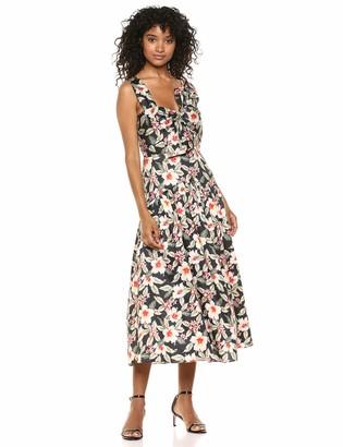 Rebecca Taylor Women's Sleeveless Kamea Bow Dress