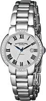 Raymond Weil Women's 2629-STS-01659 Jasmine Analog Display Swiss Automatic Silver Watch